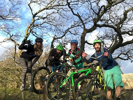 Kendal, UK: Lake District Guided mountain biking