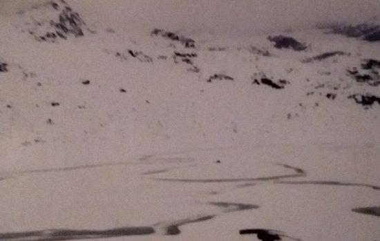Morteratsch Glacier : MORTERATSCH ghiacciato anno 2016
