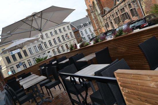 Enghien, Bélgica: Nouvelle terrasse