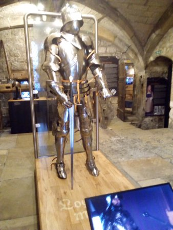 Richard III Experience at Monk Bar: Medieval suit of armour.