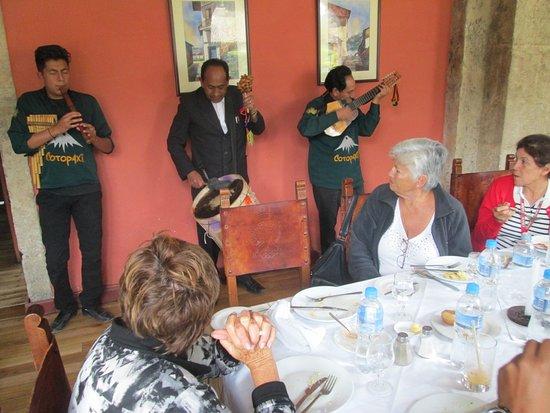 Lasso, Ecuador: our entertainment