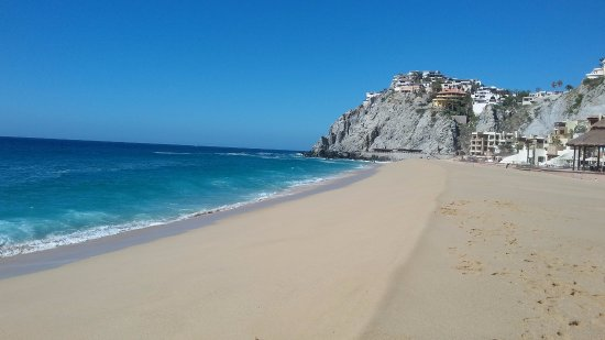 Sandos Finisterra Los Cabos Beautiful But Not Swimmable Beach