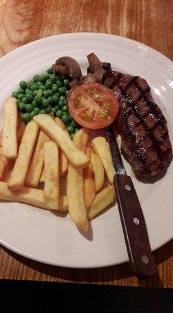 Minster, UK: Not too big portion...
