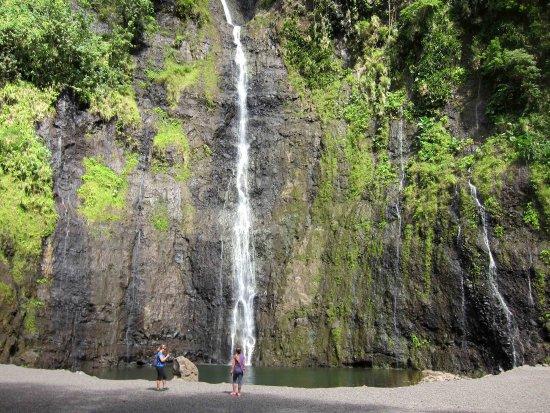 Arue, Fransk Polynesien: cascade faarumai