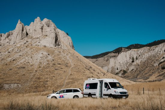 Kamloops, Canada: Scenic hoodoos along the road less travelled.