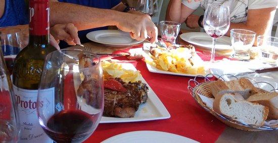 Cillorigo de Liebana, Espagne : Chuleton para conpartir