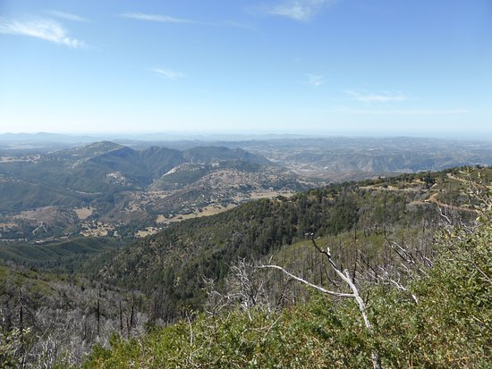Palomar Mountain, Californien: View