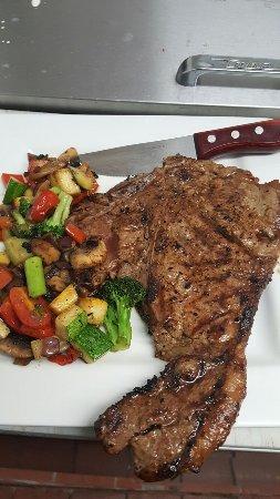 Valley Stream, NY: Ribeye steak to your liking