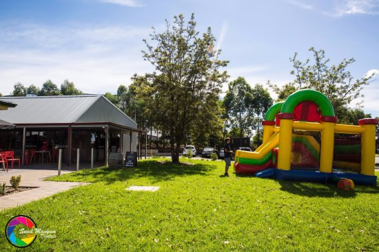 Eastern Creek, Australia: Jumping Castle