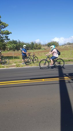 Paia, HI: Full faced helmets provided