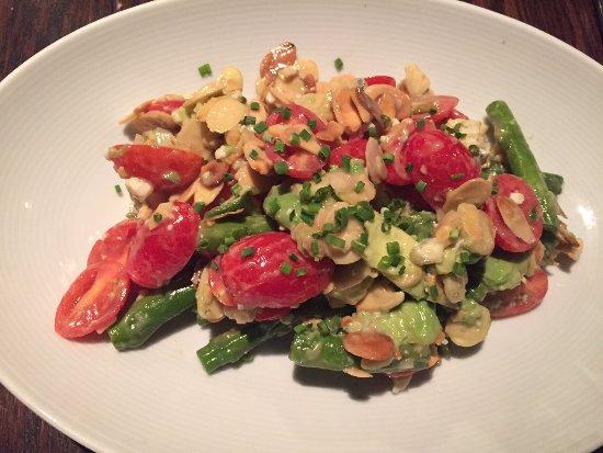 MoonShine Modern Supper Club: Asparagus salad.