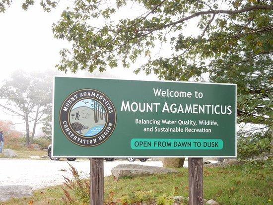 Mount Agamenticus : at the peak