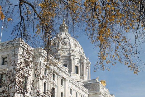 Minnesota State Capitol: Capitol in Autumn!