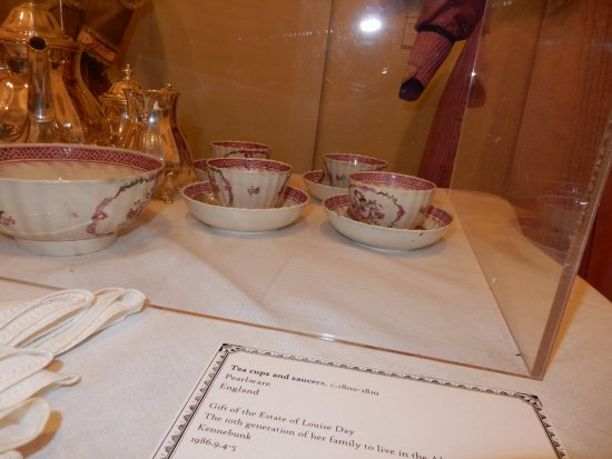 The Brick Store Museum: tea time display