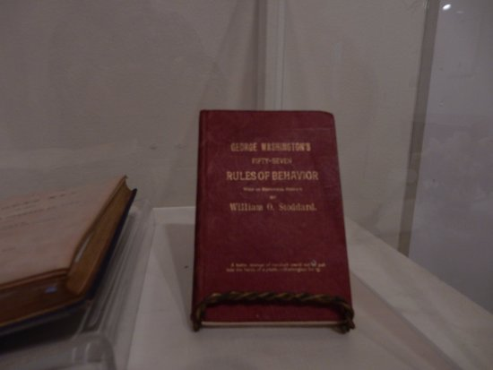 The Brick Store Museum: George Washington's book on manners
