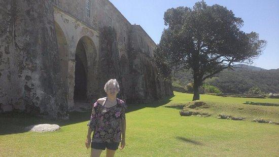 Santa Cruz de Anhatomirim Fortress: arcos