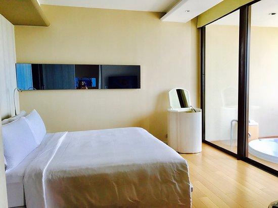 Hilton Pattaya: My room on 25 floor.