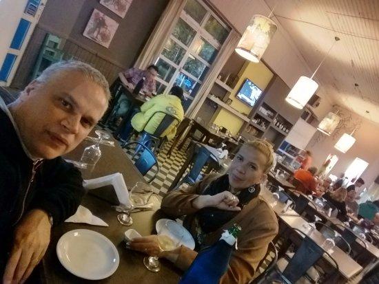Villa Elisa, Argentina: Lugar sencillo y buenas pizzas