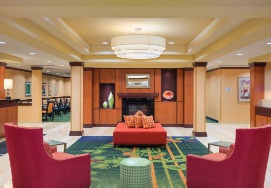 Huntingdon, PA: Lobby - Fireplace