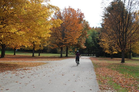 Brandon, VT: Views form our Inn to Inn bike trip, Oct 2017