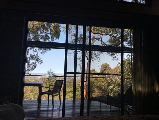 Bowen Mountain, Australien: View from the bed.