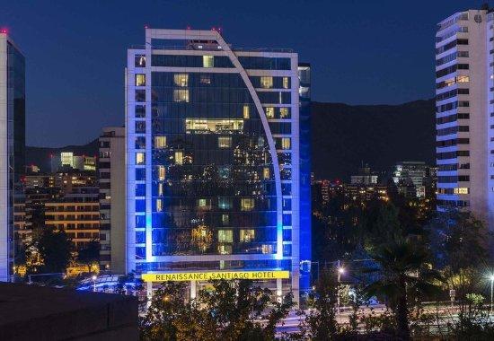 Renaissance Santiago Hotel: Exterior - Night