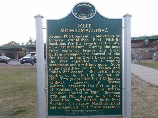 Colonial Michilimackinac, Mackinaw City, Michigan.