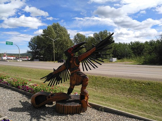 Chetwynd Chainsaw Carvings Picture