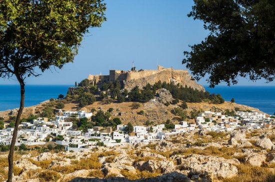 Rhodes Small-Group Boat Tour with...