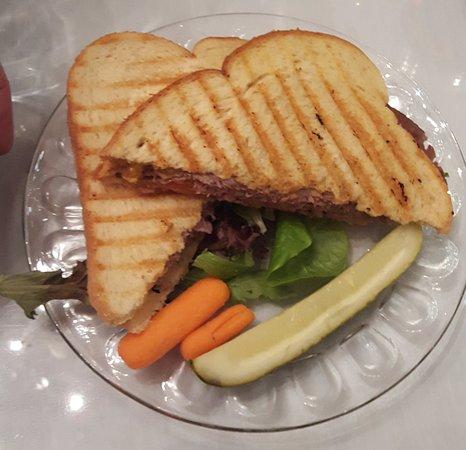 "Mackinaw, Ιλινόις: ""Texas"" sandwich"