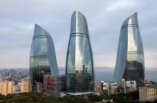 One week around Azerbaijan Baku...