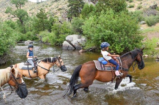 Livermore, CO: Kids ride