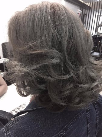 Gionyx Hair Nail Salon Ash Gray Color