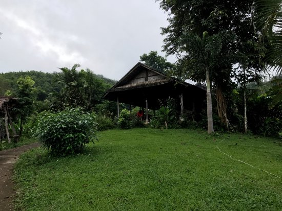 Bamboo Nest de Chiang Rai: View of the dining room