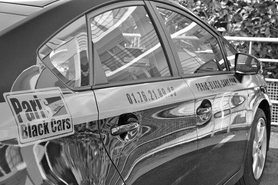 Paris Black Cars