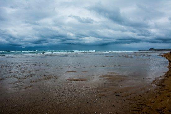 Liencres, España: inmensa playa