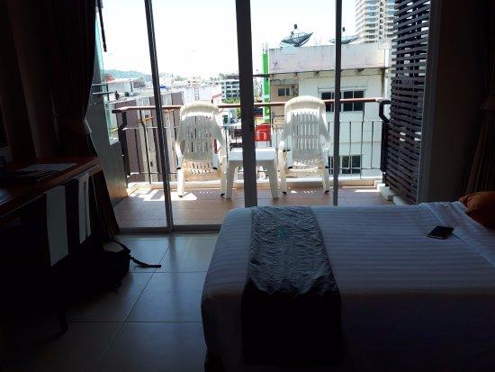 Andakira Hotel: Balcony