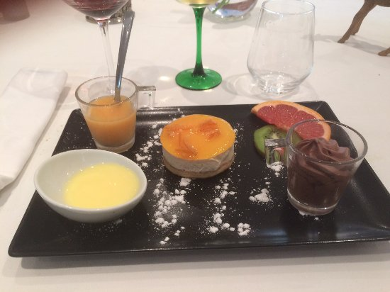 Hagetmau, Francja: Dessert