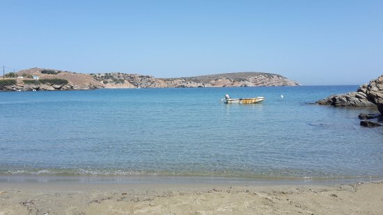 Ostria Inn: la spiaggia li davanti