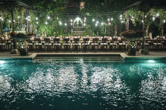 Plataran Canggu Resort & Spa: Long table dinner