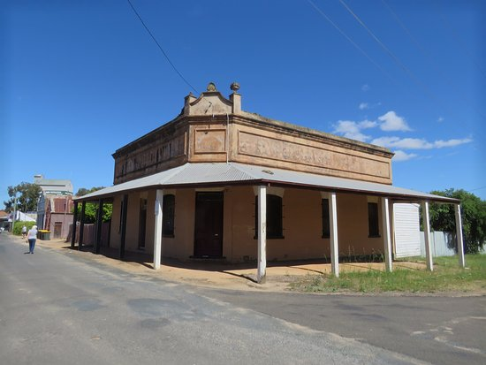 More old buildings on the original main road
