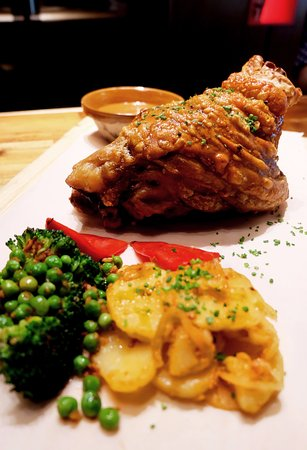 It goes without saying that the Pork Knuckle is an all-time hit.