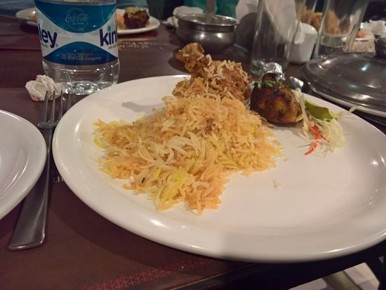 Paradise Restaurant: Chicken Biriyani