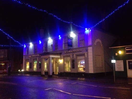 The Cornubia Hotel - a historic building in Copperhouse Hayle- still trading as a hotel 170 year