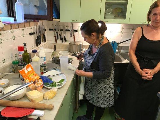 Casolare di Libbiano: Cooking lesson