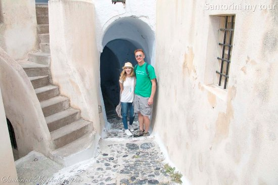 Old Town Kastelli Emporio Picture Of Santorini My Tour