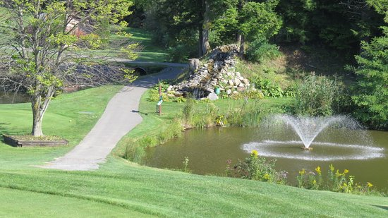 Sodus Point, NY: Hole #7 by the forward tee box