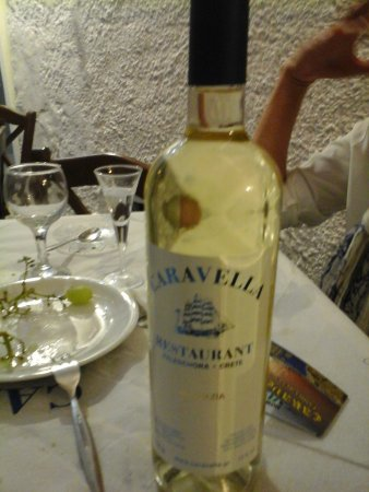 Caravella Restaurant : White wine CARAVELLA.. Super wine..
