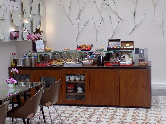 Hotel Joyce - Astotel: The breakfast/snack bar