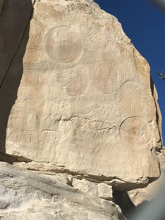 Riverton, WY: Castle Gardens Petroglyph Site